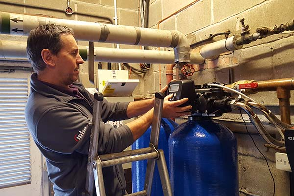 Water filter installation essex